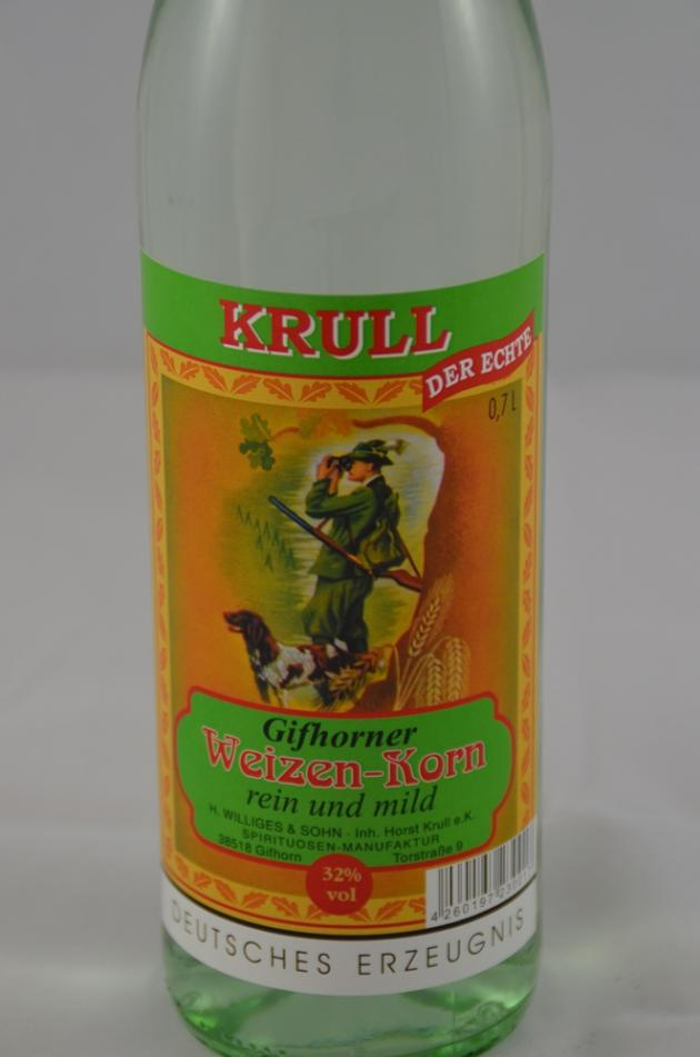Gifhorner Weizenkorn 0,7 Ltr.