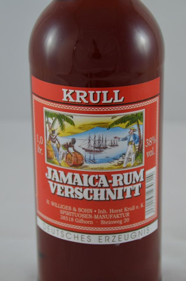 Krull's Jamaica Rum-Verschnitt brown
