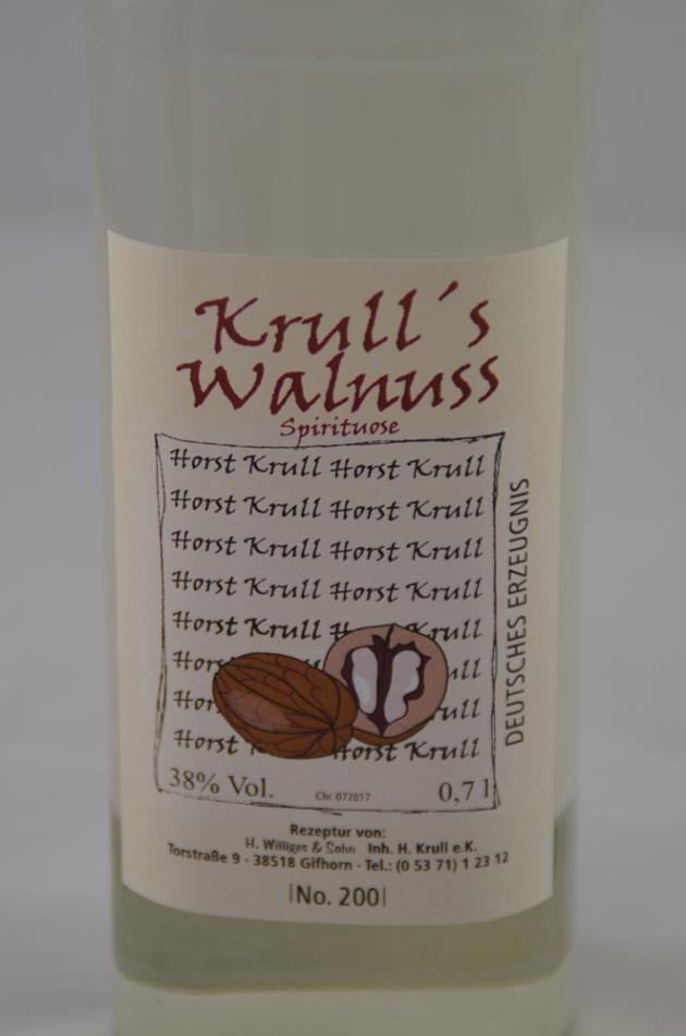 Krull's Walnussgeist
