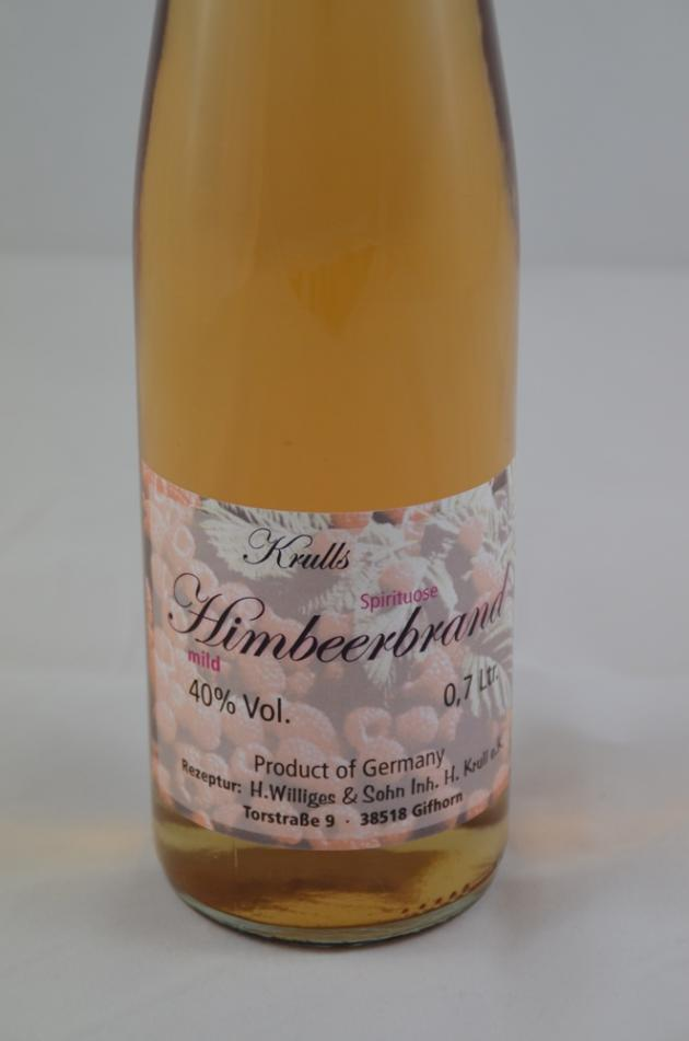 Krull's farbiger Himbeerbrand