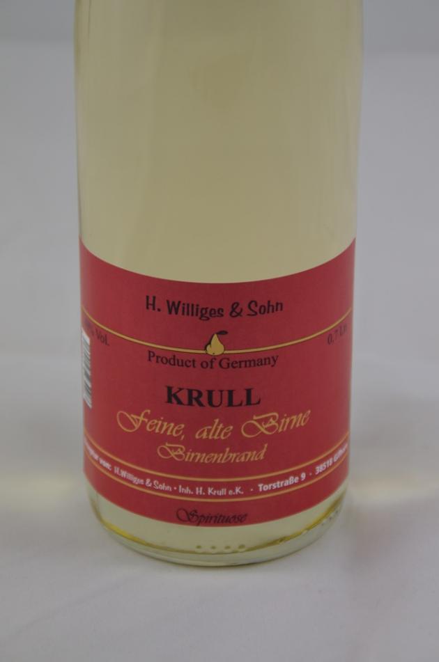 Krull's Feine alte Birne mild und farbig