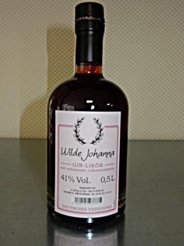 Wilde Johanna Gin Likör